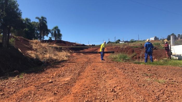 Xanxerê instala pontos de acessos controlados e barreiras fixas no município