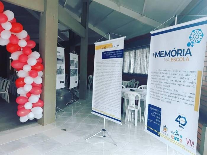 AMAI 40 anos: Projeto +Memória na Escola é lançado em Marema