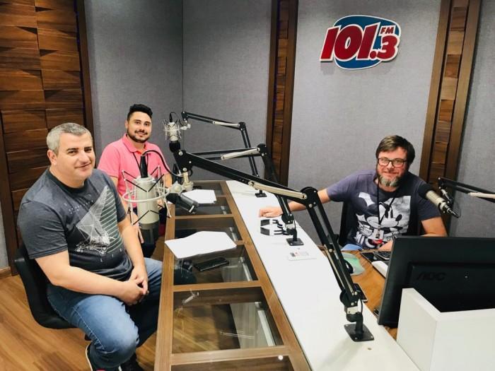 Rogério, Paulinho e Adair Jr.