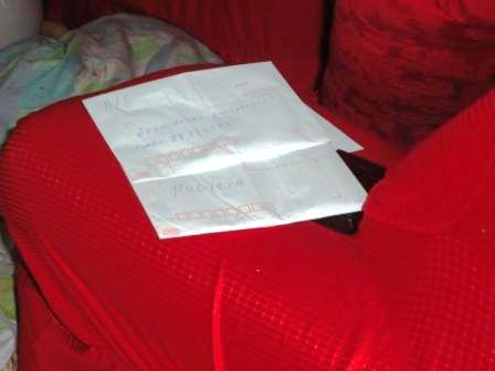 Cartas deixadas por Irineu