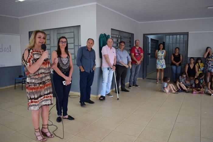 Prefeitura de Xanxerê inaugura reforma na EMEB Cirilo Dal'Óglio