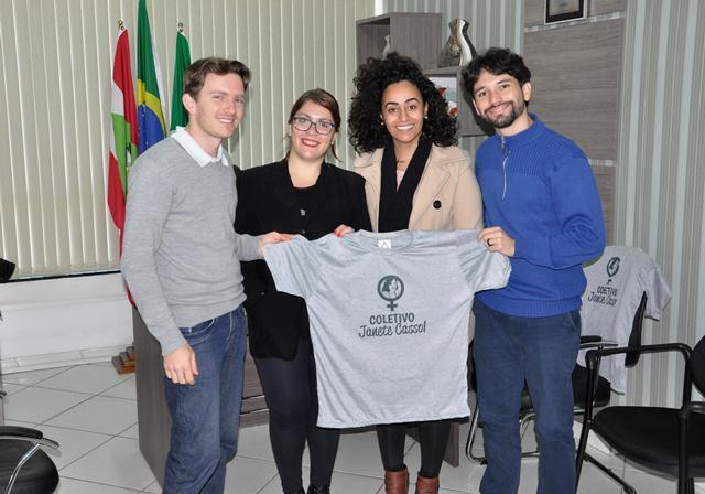 """Coletivo """"Janete Cassol"""" busca parceria com a Câmara Municipal"""