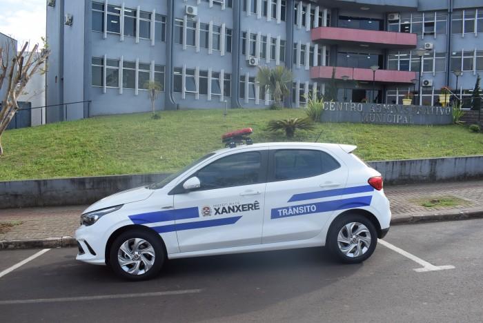 Departamento Municipal de Trânsito de Xanxerê recebe carro zero quilômetro