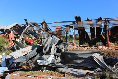 Santa Catarina relembra 1 ano do tornado do Oeste