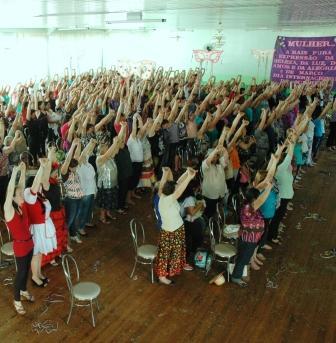 Mulheres de Vargeão participam de evento comemorativo