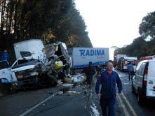 Motorista perde a vida em acidente na 282 na manhã de hoje