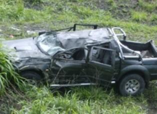 Vereadora de Chapecó sofre acidente com carro de Xanxerê