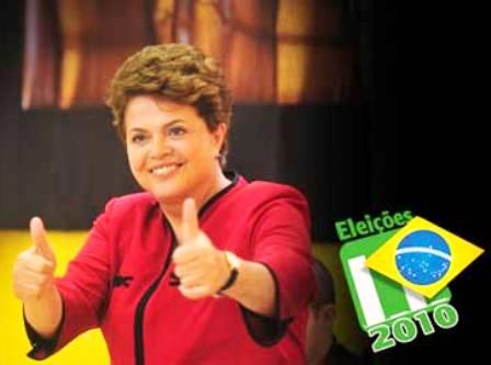 Dilma Rousseff é eleita presidente do Brasil
