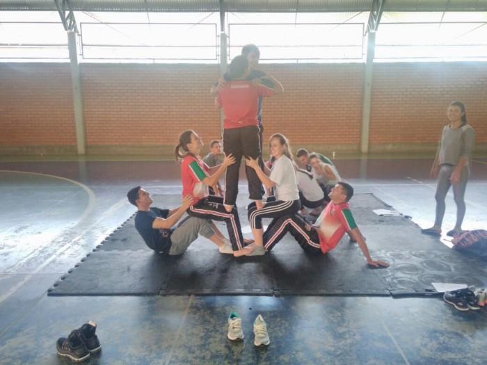 Representantes do Ministério dos Esportes conhecem núcleo do Programa Segundo Tempo de Xanxerê