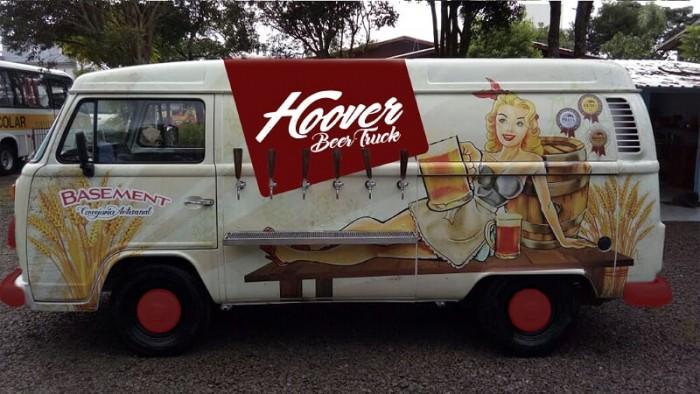Hoover Beer Truck