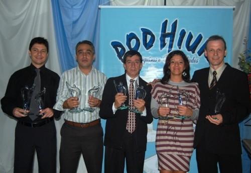 Sistema Princesa de Comunicação recebe seis Troféus Podhium