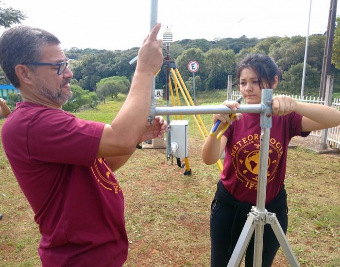 Estações meteorológicas são instaladas no IFSC para monitorar o clima em Xanxerê e Chapecó